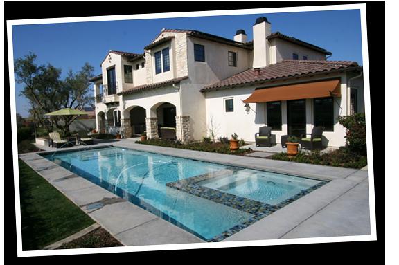 Beautiful Paradise Pools and Spas Pool Postcard