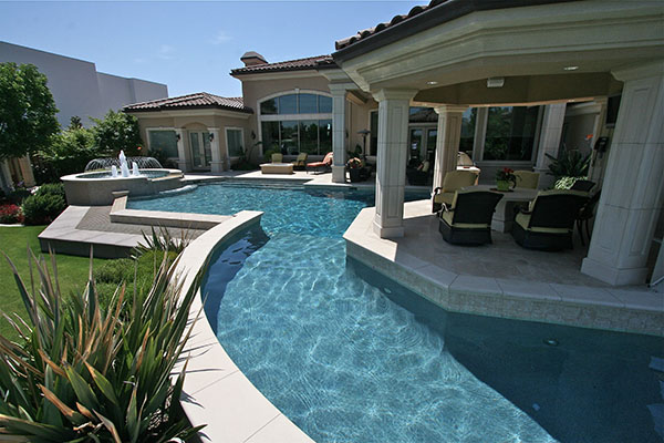 Custom pools and spas paradise pools and spas bakersfield for Custom pool and spa