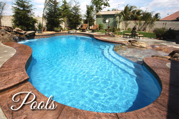 Custom Pool by Paradise Pools and Spas