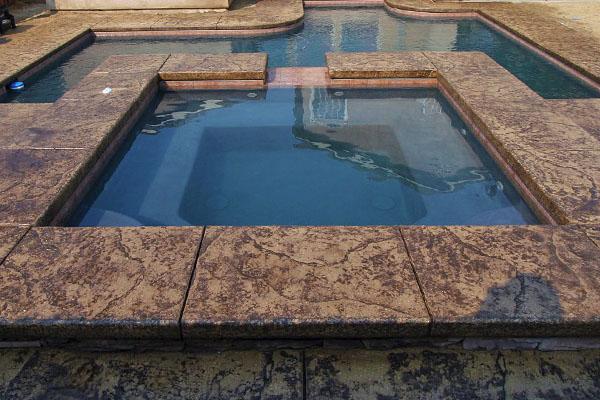 Beautiful Paradise pools and Spas Custom Spa.