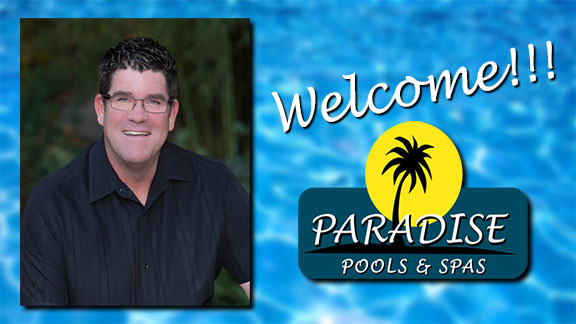Paradise Pools and Spas owner Joel Chrisco welcomes you to the website