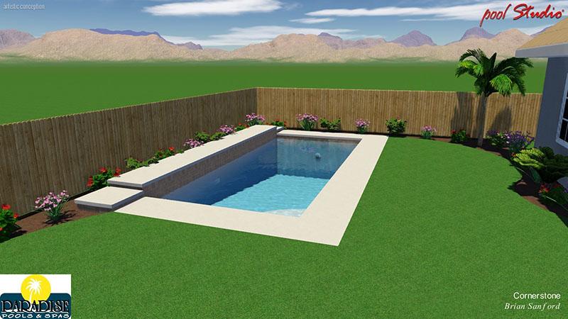 Paradise Geometric with Raised Deck