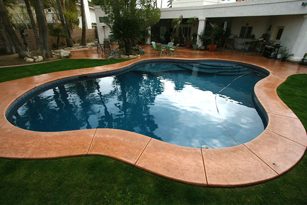 Standard pool designs paradise pools and spas bakersfield for Pool design standards