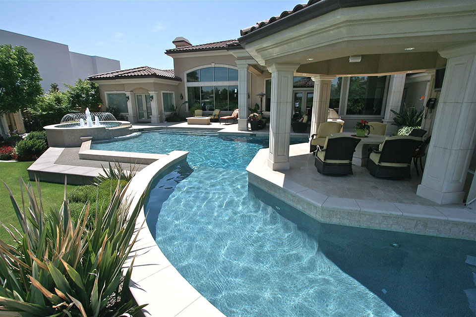 Outdoor Living Gallery - Bakersfield Pool Builder ... on Outdoor Living Pool And Spa id=82130